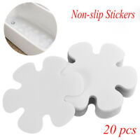 20pcs Anti Slip Flower Shape Non-Slip Safety Flooring Bath Tub Shower Stickers