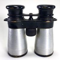 BUSCH Binoculars 40mm D.R.P.  Brass Aluminum Vintage
