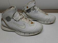 Nike Air Zoom Huarache 2K5 Basketball Sneakers 310850-111 Leather White Men 10.5