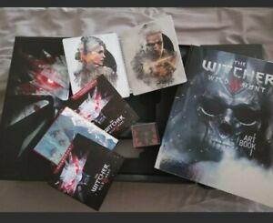 The Witcher 3 - Wilde Jagd wild hunt collectors edition OHNE FIGUR UND KARTON