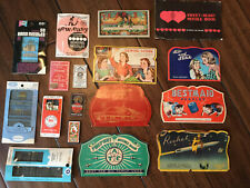 Vintage Advertising Sewing Needles Books, Lot, The Army and Navy, A&P, & Others