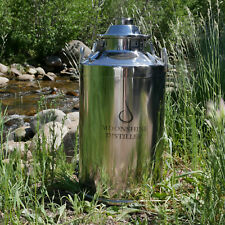 Stainless Steel Milk Can Distilling Boiler - 13 Gallon, Scratch/Dent Special!!!