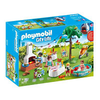 Playmobil City Life Housewarming Party Building Set 9272 NEW IN STOCK