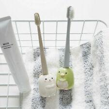 Cute Ceramic Toothbrush Holder Toothpick Pen Holder Storage Mini Flower Pot Deco