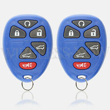 2 Car Key Fob Keyless Entry Remote 6Btn Navy For 2012 2013 2014 Chevrolet Tahoe