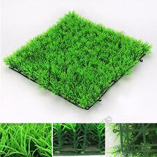 Artificial Water Plastic Green Grass Plant Lawn Aquarium Fish Tank Decoration