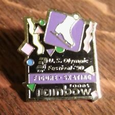 Rainbow Foods 1990 Lapel Pin - Vintage Olympic Festival Minneapolis Mn Skating