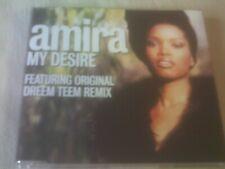 AMIRA - MY DESIRE - 3 MIX DANCE CD SINGLE