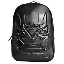 Urban Junk - Bionic Black 3rd Dimension Embossed Rucksack/Backpack