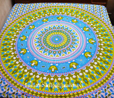 Indian mandala Tapestry Curtain Wall Hanging Double Bohemian Bedsheet Flowers