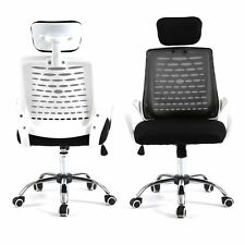 Home Drafting Computer Office Desk Commercial Task Chair Armrest Chair BLK/WH