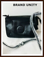 Mimco SECRET Couch Hip Across body Hand Bag BNWT $199 Black Matt FREE POST