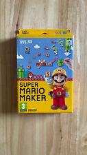 Super Mario Maker Wii U Box Only