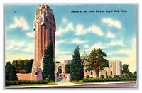 Royal Oak, MI Michigan, Shrine of the Little Flower Postcard Posted Detroit 1954