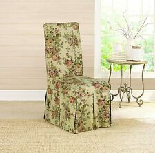 Sure Fit Bridgewater Floral  - Dining Room Chair Slipcover  - Antique  NEW