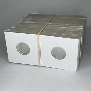 Guardhouse Penny Size 2x2 Coin Cardboard Mylar Flips Holder Bundle of 100