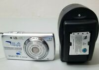 Olympus Stylus 760 All Weather 7.1MP Digital Camera - Silver *GOOD W/Charger*