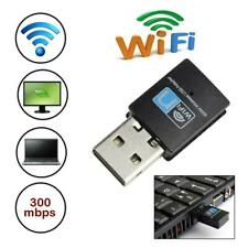 300Mbps Wireless Usb Adapter Wifi Internet Dongle For Xp/Vista/Windows 7/8/10/PC