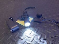 Gun Flashlight with Battery Charger and Rail Mount
