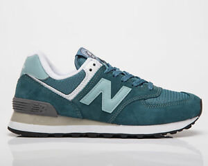 New Balance 574 Women's Deep Sea Storm Blue Low Casual Lifestyle Sneakers Shoes