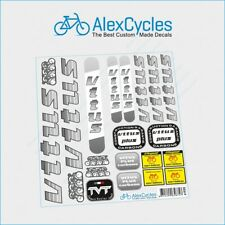 VITUS Jacques Anquetil France Cycle Yellow Decals Stickers for Re-sprays Gift