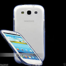 White Soft Matte Slim TPU Case Samsung Galaxy S3 4G i9305+Screen Protector AU