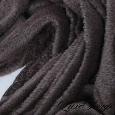 STUNNING LNWOT Anonymous Granite Greige Shaggy Boucle Couch Throw Blanket MODERN