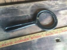 Cast Iron Vintage Pan Holder , Cooking Stove Aide , Wood stove