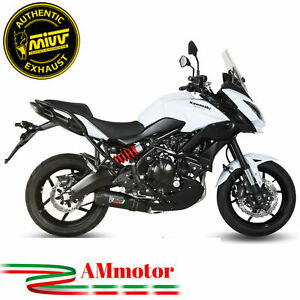 Scarico Completo Mivv Kawasaki Versys 650 2020 20 Terminale Oval Carbon Cap Moto