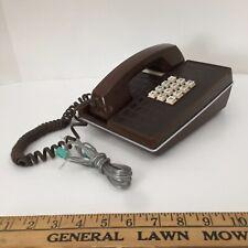 Vtg Western Electric Faux Alligator Snake Skin Touch Tone Desk Phone - untested