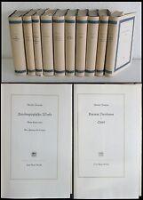 Theodor Fontane - 10 Bände Werke in Einzelausgaben 1962/65 -Literatur, Romane xz