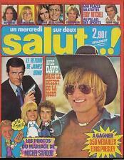 SALUT 30 (26/10/77) EDDY MITCHELL ROMINA POWER GALL