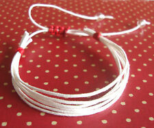 Any Colours White Surfer Bracelet, Friendship Bracelet, Festival, Boho, Hippy W1