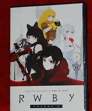 Rwby Volume 2 [DVD] 1 DISC FLATIRON FILM ANIME BLURAY R.W.B.Y.