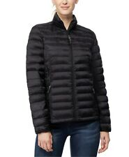 32 Degrees Womens Packable Down Puffer Coat Large Black Jacket
