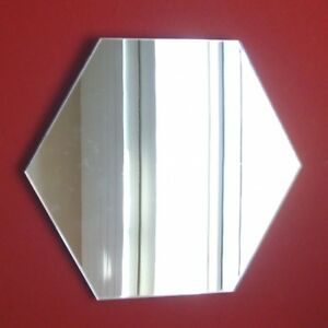Hexagon Shaped Mirrors (Shatterproof Acrylic Safety mirrors, Several Sizes)