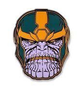 "THANOS ENAMEL LAPEL PIN LootCrate Marvel Avengers GOTG Infinity War NEW 1""x1.5"""