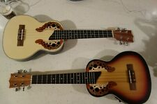 Excelsior Ovation Tribute wood top  Bowl back Electro-acousticUkulele