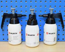 3x 1000ml Würth Pumpsprühflasche Sprühflasche unbefüllt Handsprüher Handpumpe