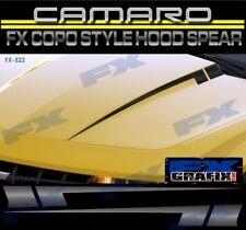 2010 Chevrolet Camaro COPO Style Hood Spears Stripe Kit Dealer Quality Stripes