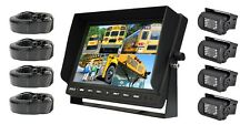 "NEW Pyle PLCMTR104 Van Truck 10.1"" Monitor W/ Dual DC Top Mount Backup Camera"