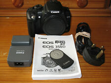 Canon EOS 350D / 8.0MP Digital SLR Camera - Black (Body Only)
