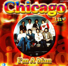 """Chicago Live """"i 'm A Man"""" CD NUOVO & OVP"""