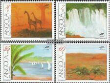 Angola 850-853 (compleet.Kwestie.) MNH 1991 Toerisme