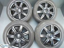 "Original Audi Q7 4L VW Touareg Alloy Wheels 19 "" Dunlop Winter Tyres 265 50 r19"