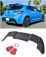 For 19-Up Toyota Corolla Hatchback | JDM Primer Black Rear Roof Wing Spoiler