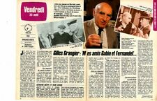 Coupure de presse Clipping 1985 Gilles Grangier   (2 pages)