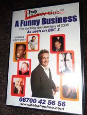 LN DVD A FUNNY BUSINESS TV DOCUMENTARY of 2006 The Comedy Club AS SEEN ON BBC 3