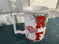 "Harley Davidson Large 16 oz. Coffee Cup Mug ""Ride Free"" Milwaukee WI Red Russ"