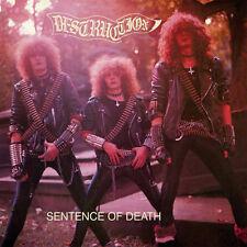 """Destruction – Sentence Of Death 12"""" Purple Vinyl Re Euro Cover New (2017) Metal"""